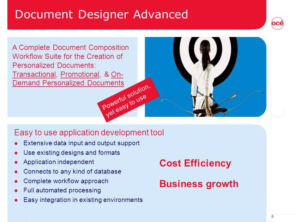 Document Designer Advanced