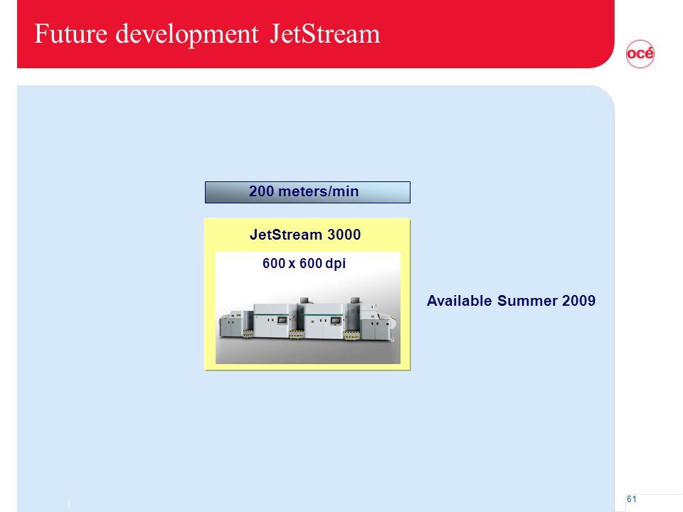 Future development JetStream