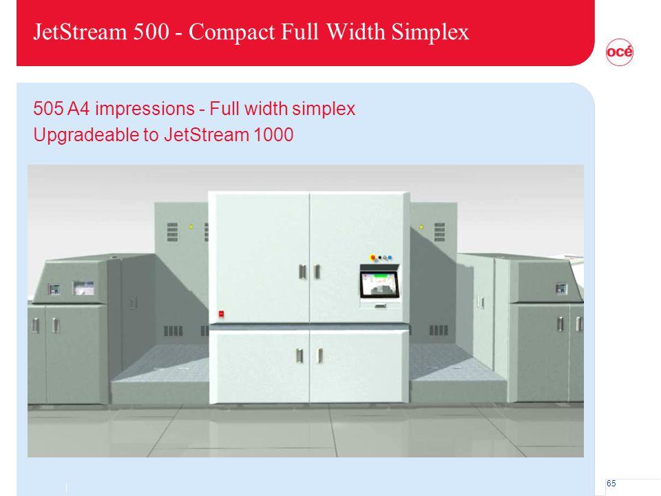 JetStream 500 - Compact Full Width Simplex