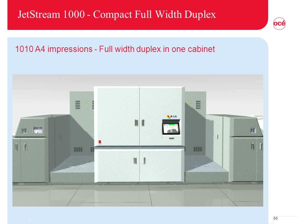 JetStream 1000 - Compact Full Width Duplex