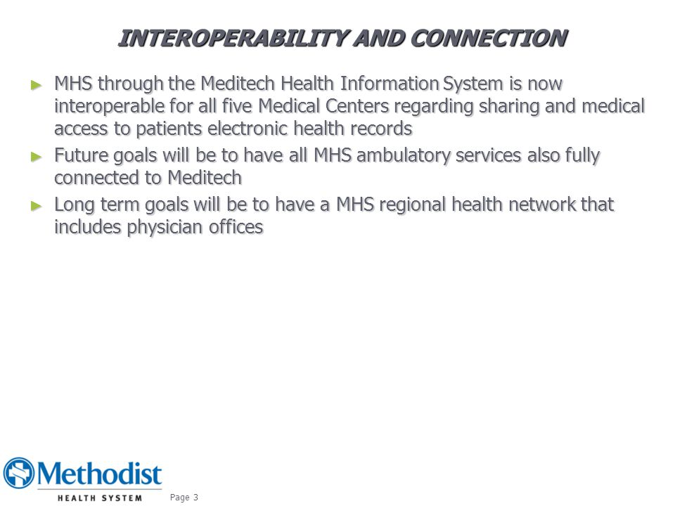 Interoperability and Connection