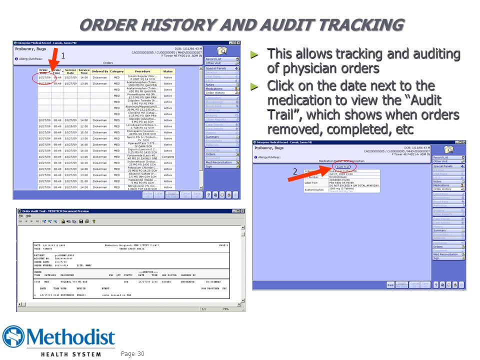 Order History And Audit Tracking