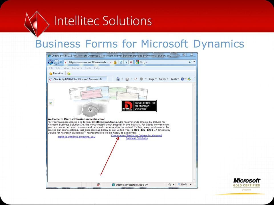 Business Forms for Microsoft Dynamics
