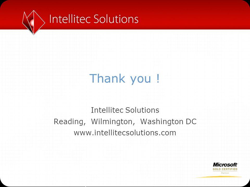 Reading, Wilmington, Washington DC