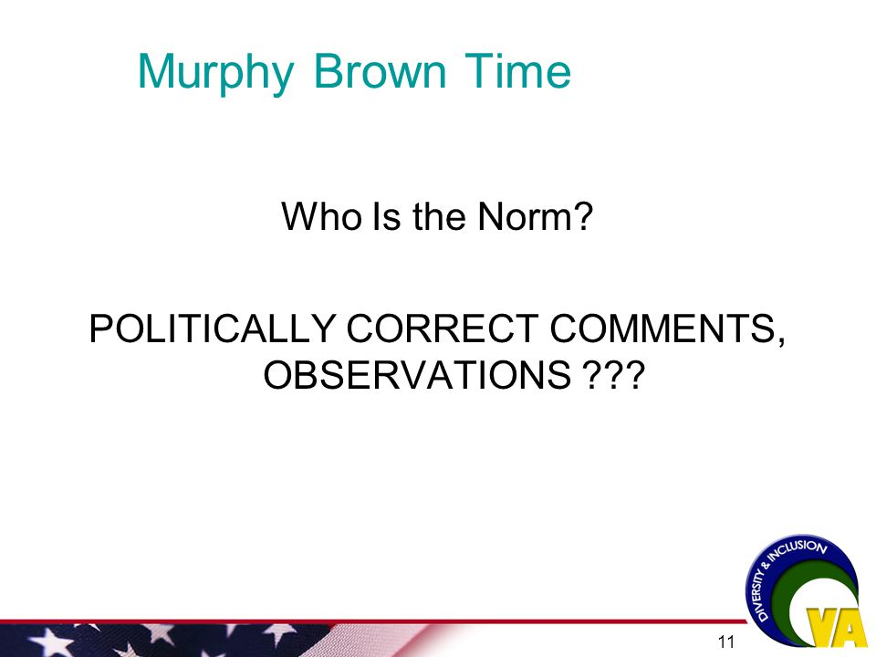 POLITICALLY CORRECT COMMENTS, OBSERVATIONS