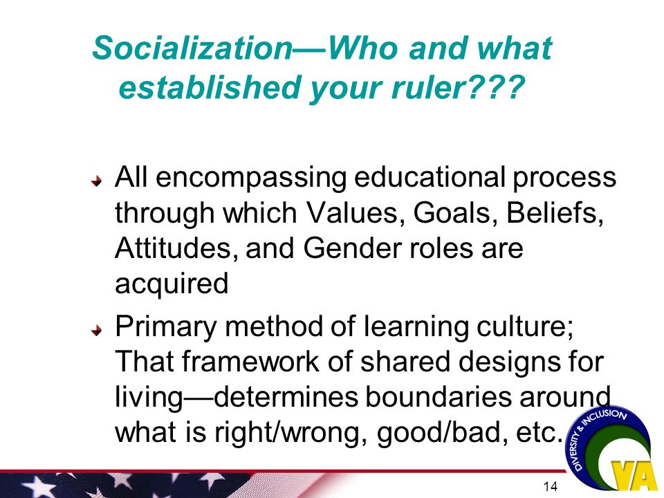 Socialization—Who and what established your ruler