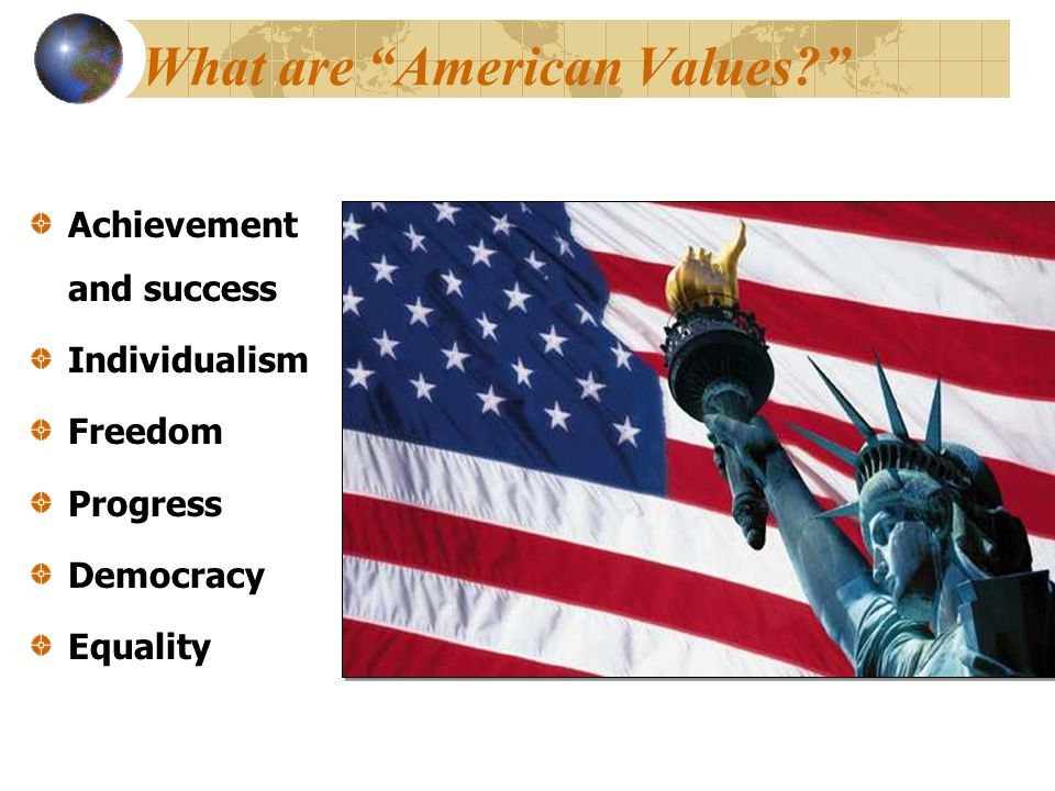 What are American Values