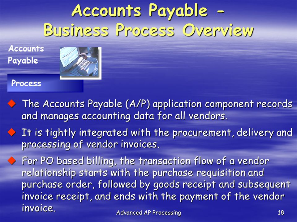Accounts Payable - Business Process Overview