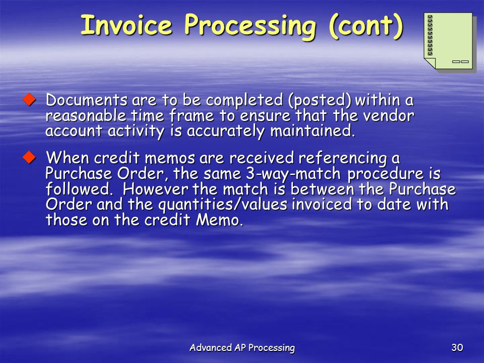 Advanced Ap Processing - Ppt Download