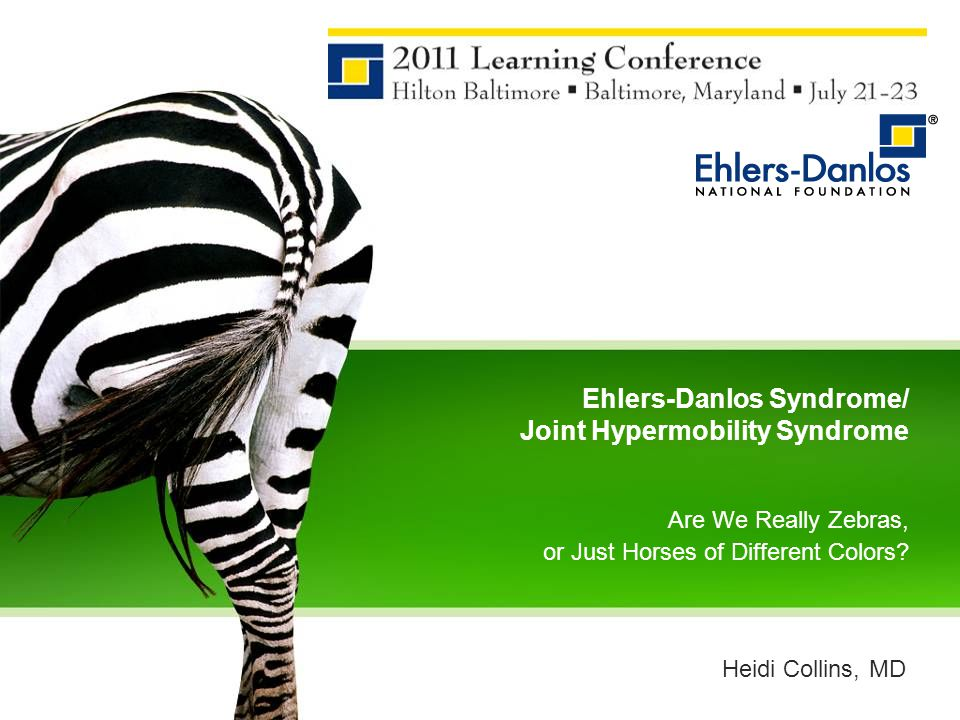 Ehlers-Danlos Syndrome/ Joint Hypermobility Syndrome