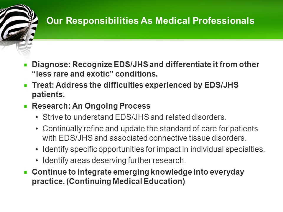 Our Responsibilities As Medical Professionals