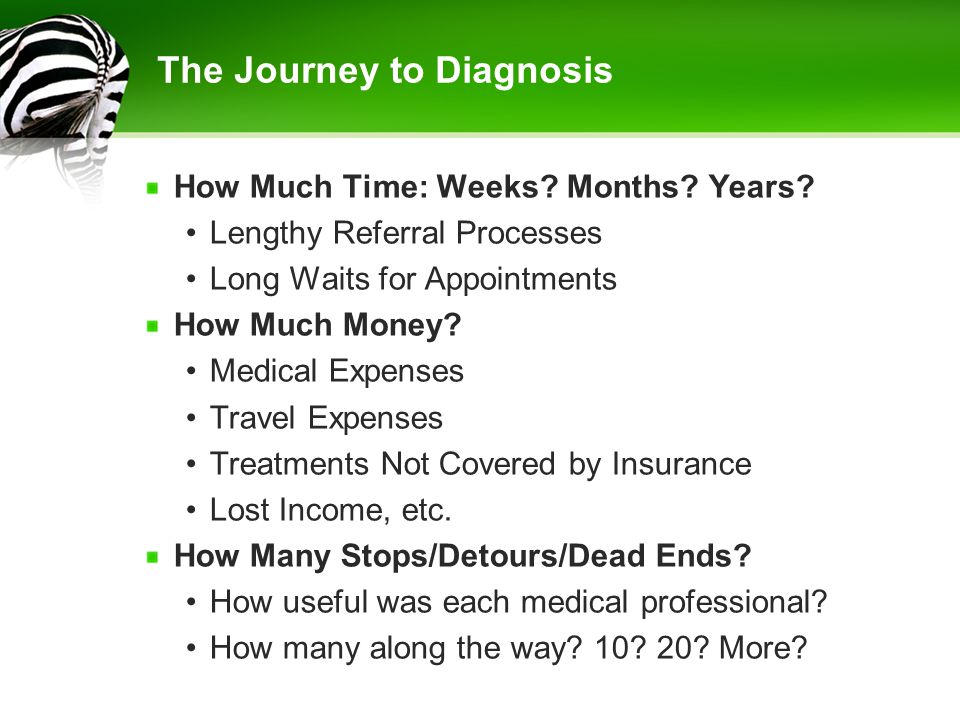 The Journey to Diagnosis