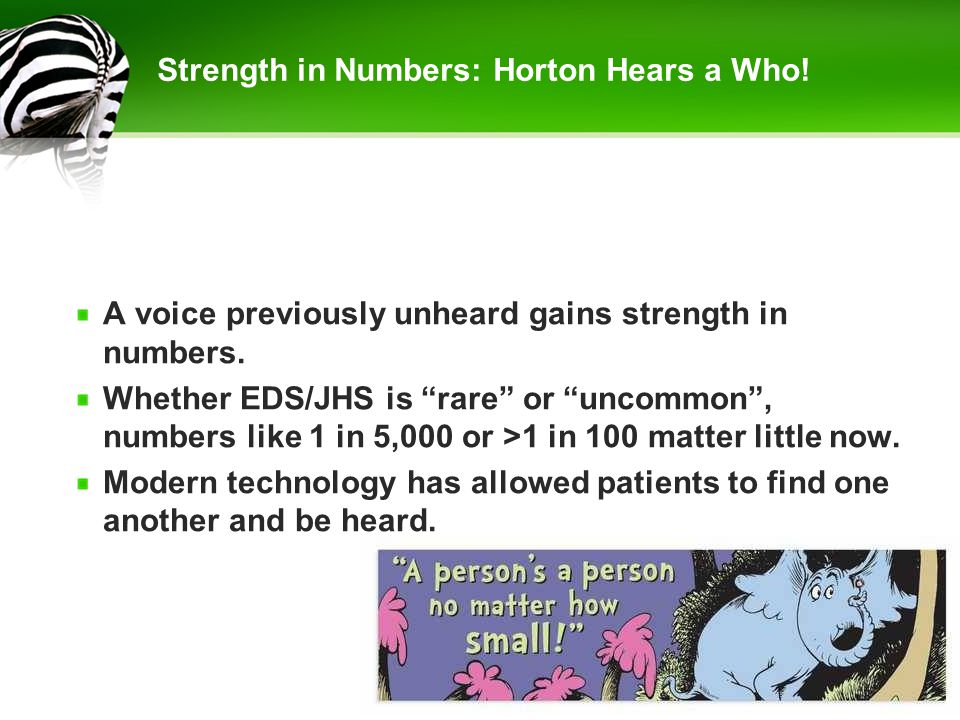 Strength in Numbers: Horton Hears a Who!
