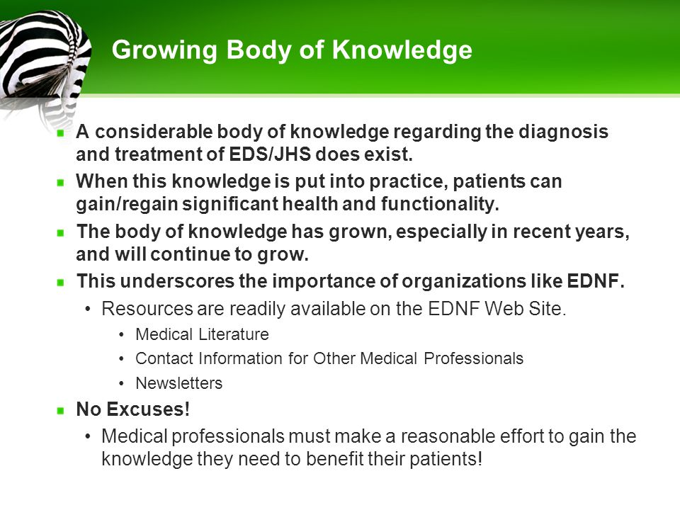 Growing Body of Knowledge