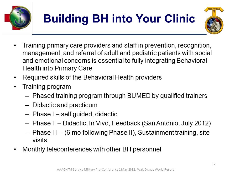 Building BH into Your Clinic