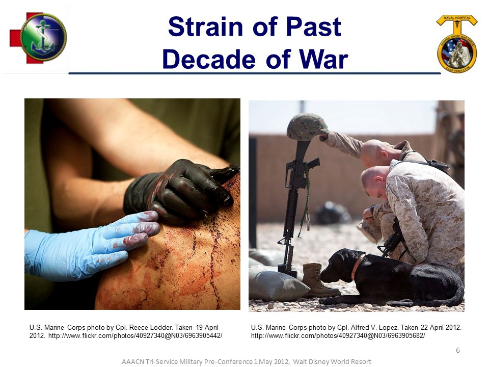 Strain of Past Decade of War