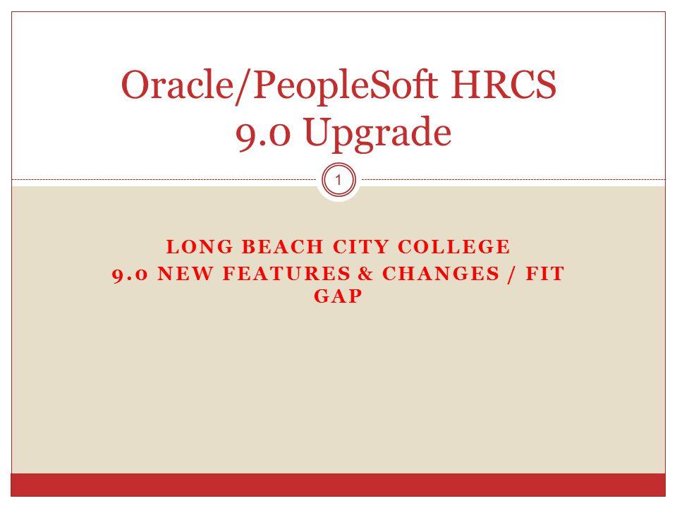 Oracle/PeopleSoft HRCS 9.0 Upgrade