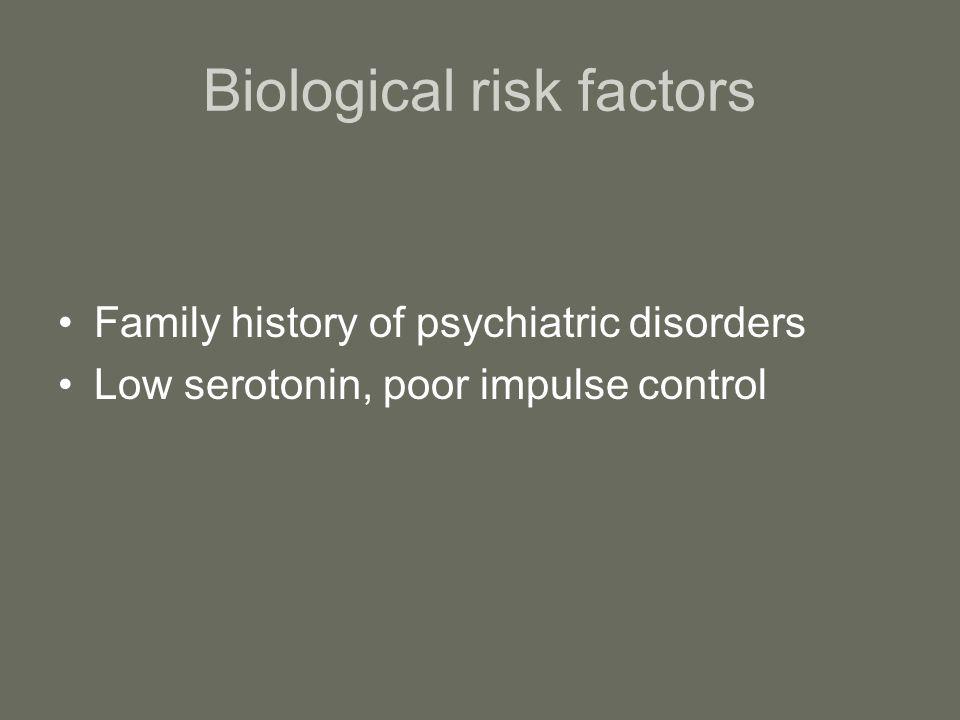 Biological risk factors