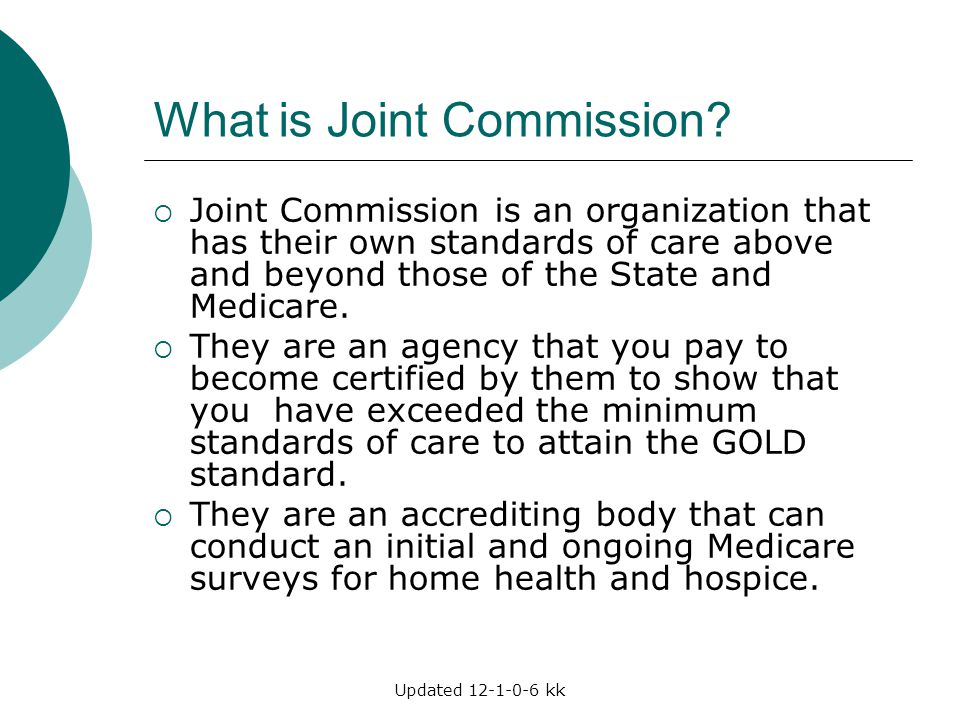 What is Joint Commission