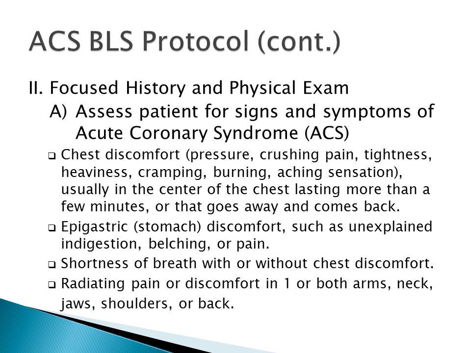 ACS BLS Protocol (cont.)