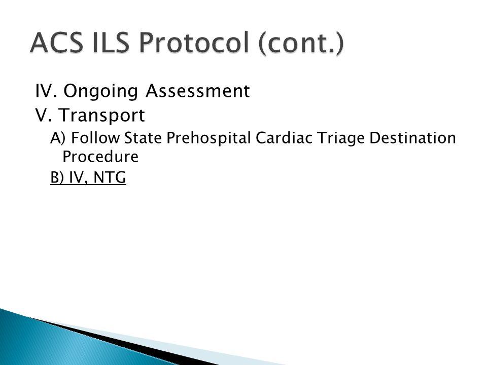 ACS ILS Protocol (cont.)