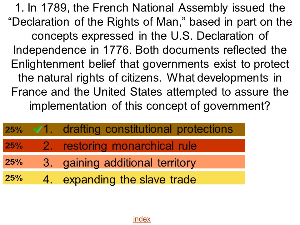 drafting constitutional protections restoring monarchical rule