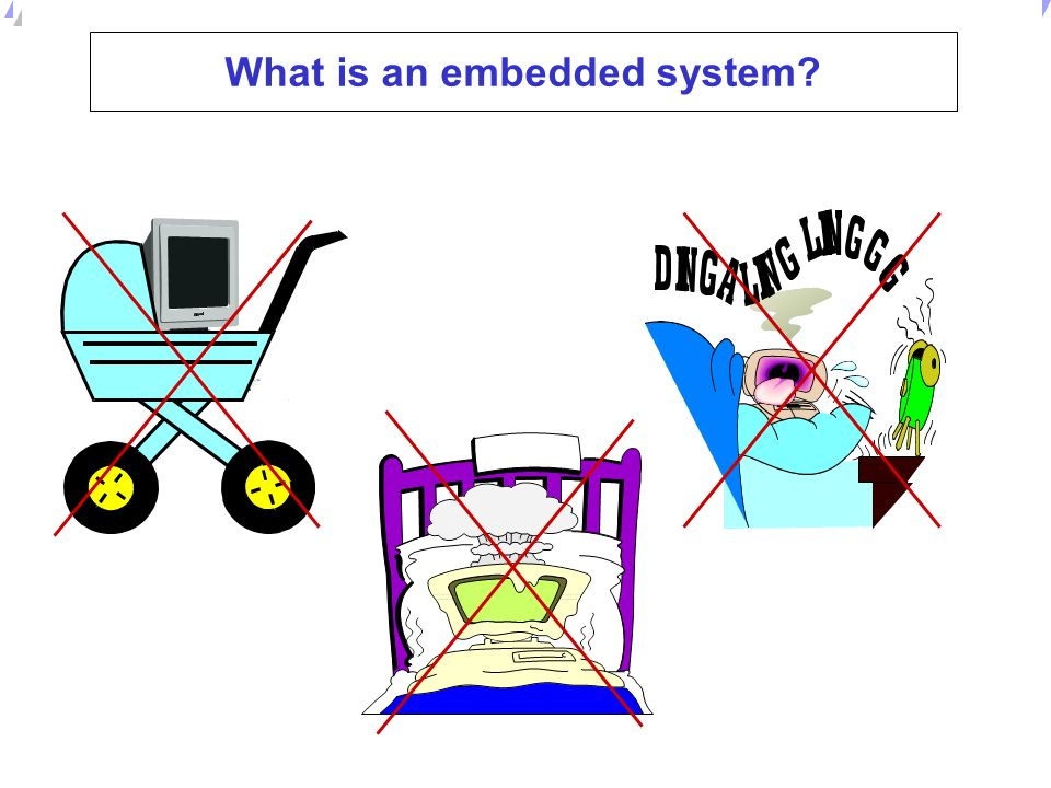 What is an embedded system