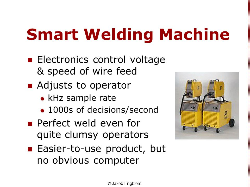 Smart Welding Machine Electronics control voltage & speed of wire feed