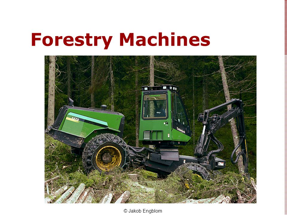 Forestry Machines © Jakob Engblom