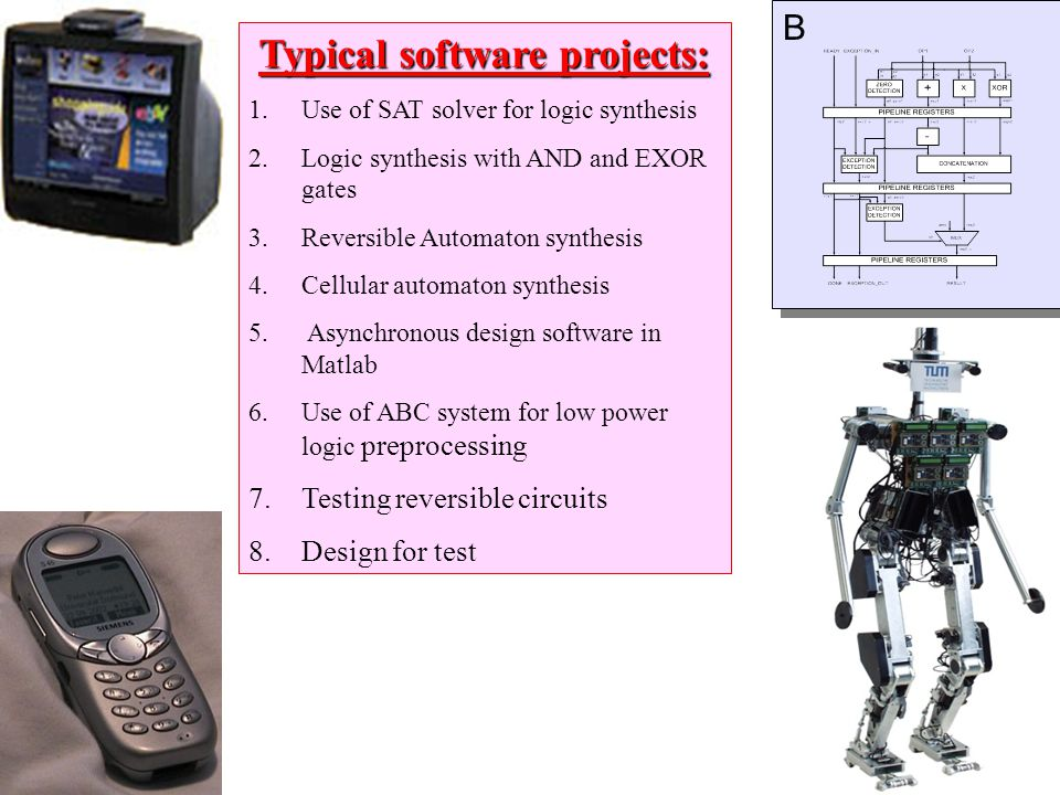 Typical software projects: