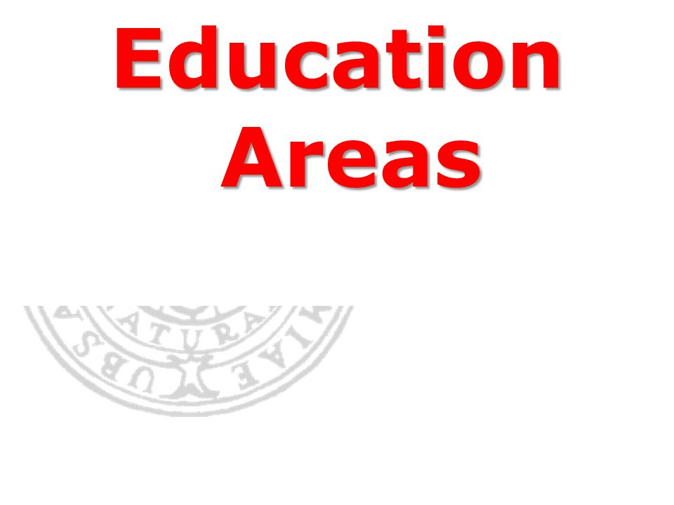 Education Areas