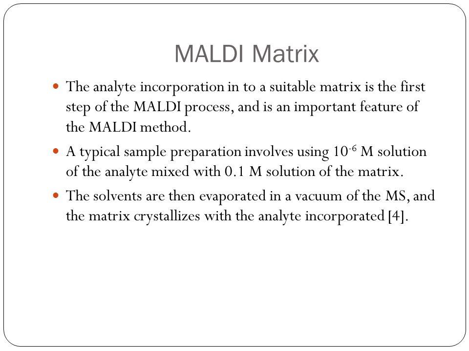 MALDI Matrix
