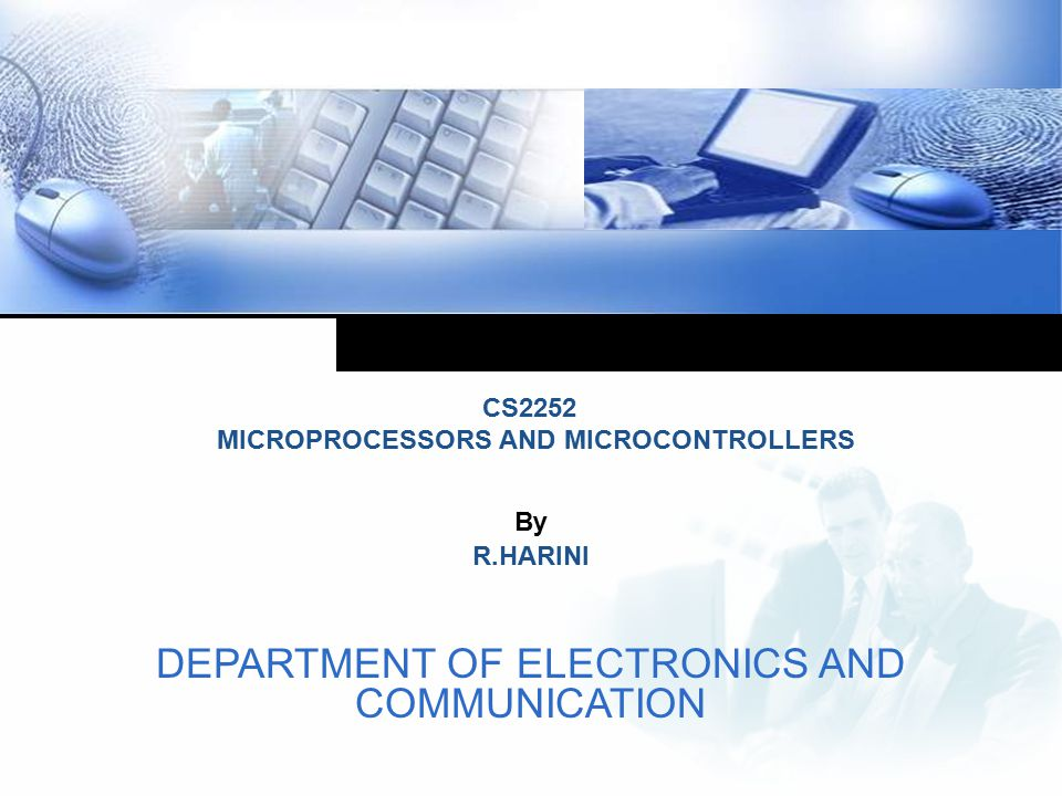 DEPARTMENT OF ELECTRONICS AND COMMUNICATION