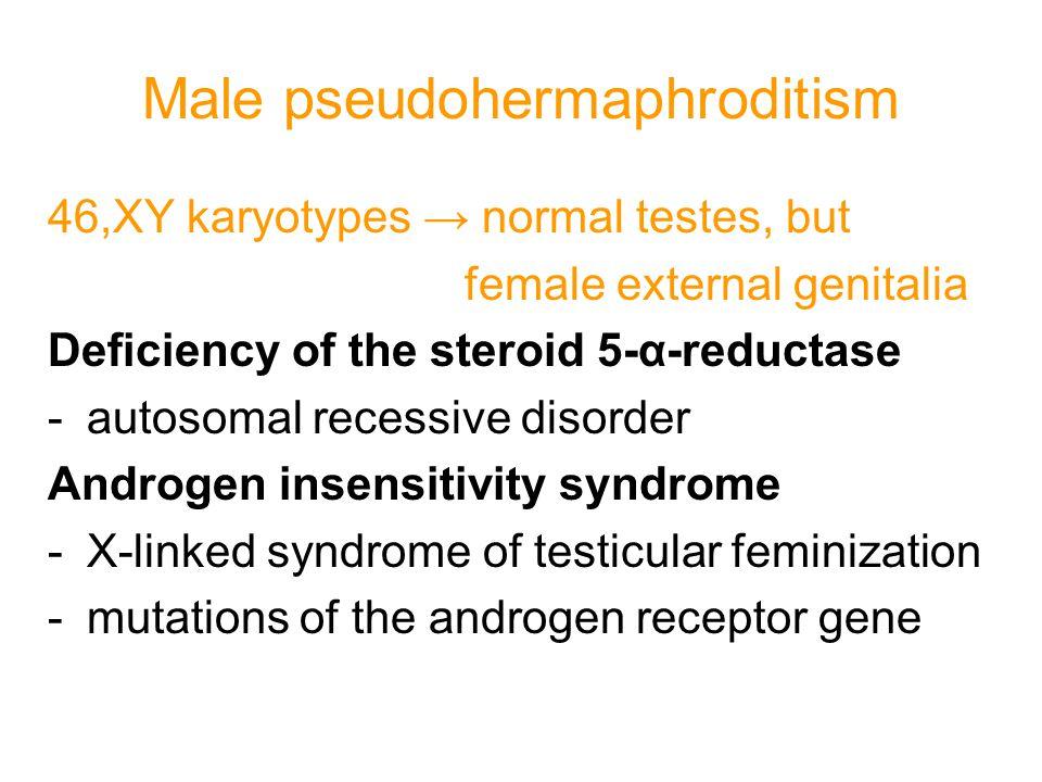 Male pseudohermaphroditism