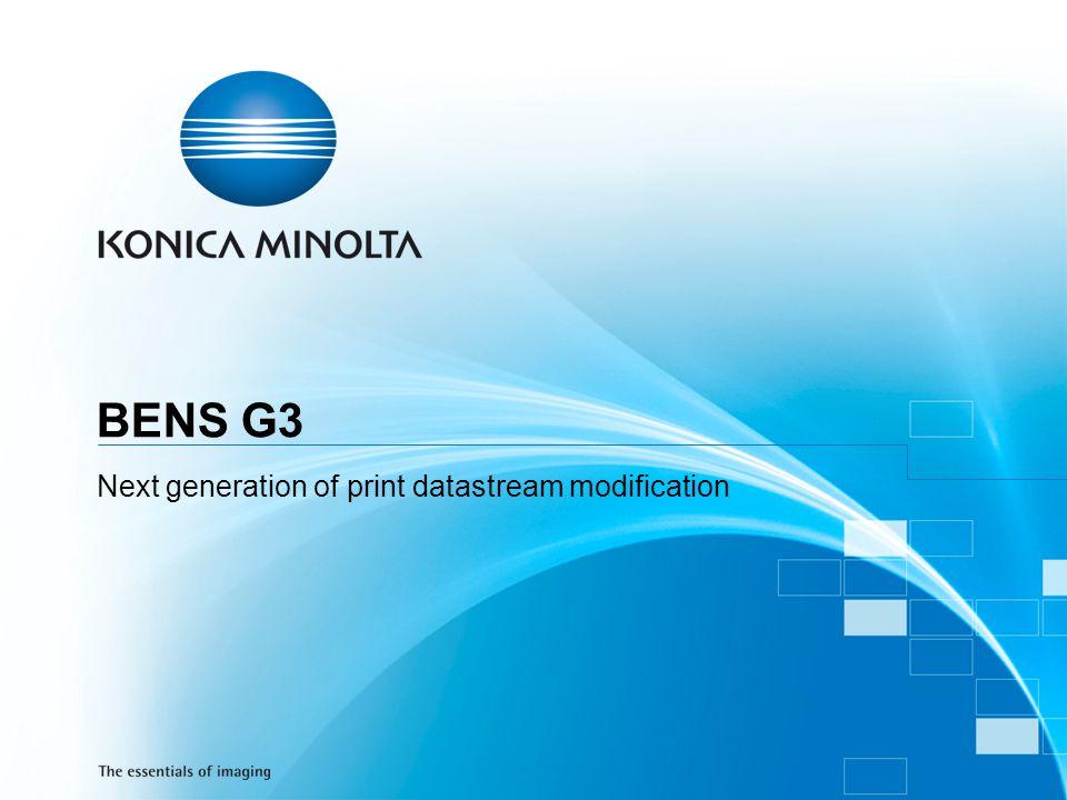 Next generation of print datastream modification