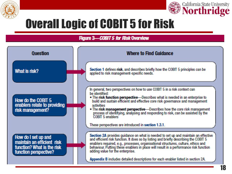Overall Logic of COBIT 5 for Risk