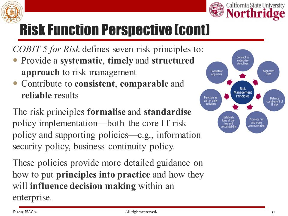 Risk Function Perspective (cont)