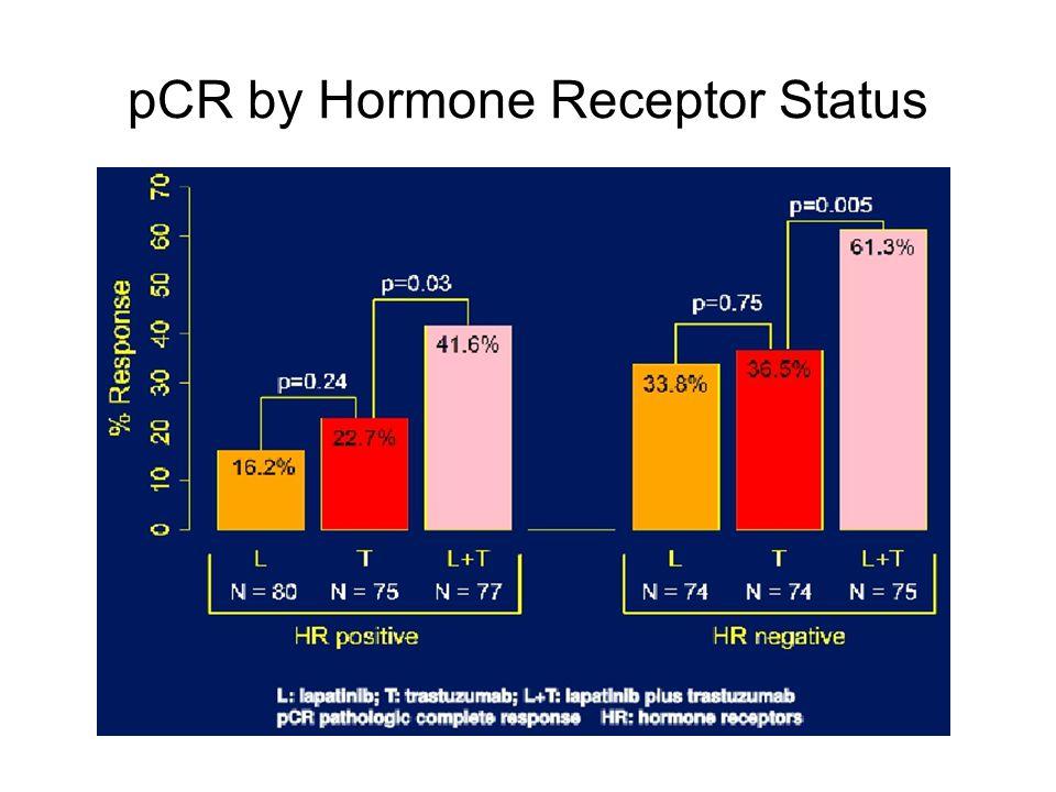 pCR by Hormone Receptor Status