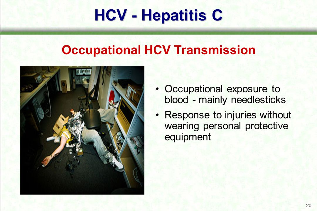 Occupational HCV Transmission
