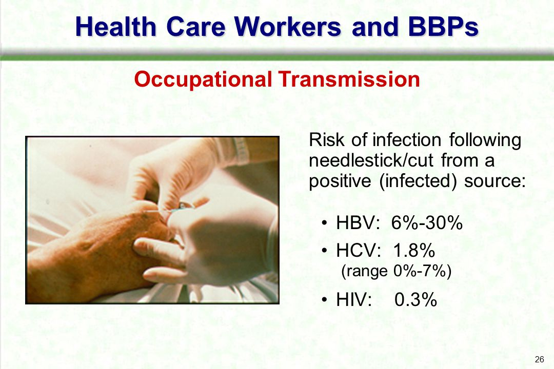 Health Care Workers and BBPs