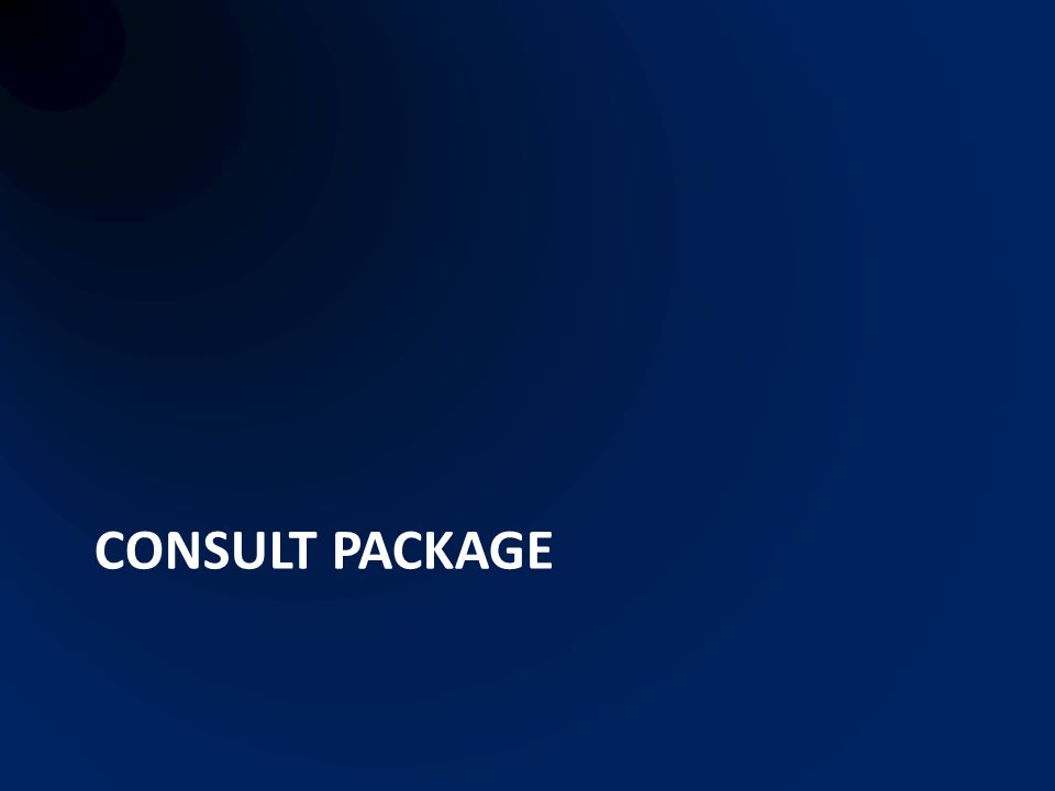 Consult package