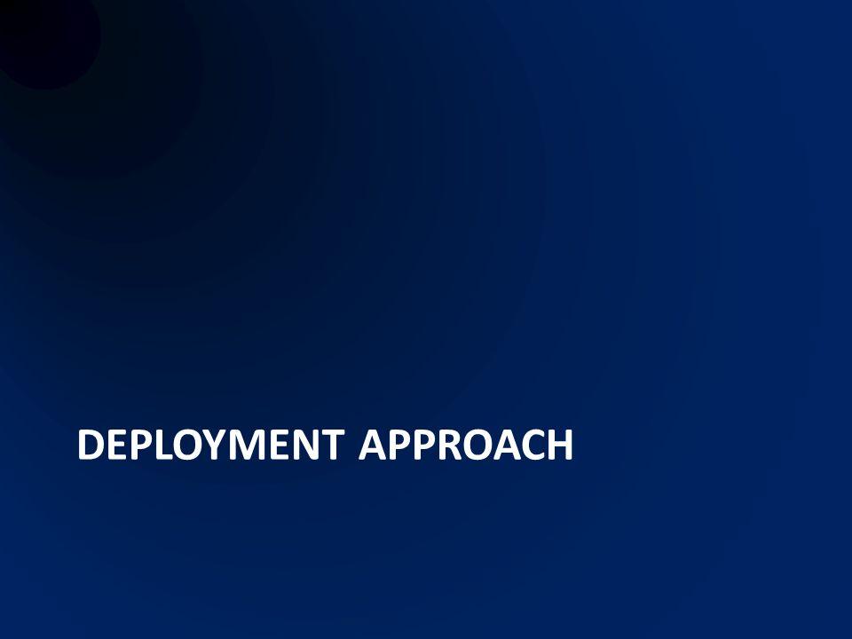 Deployment approach