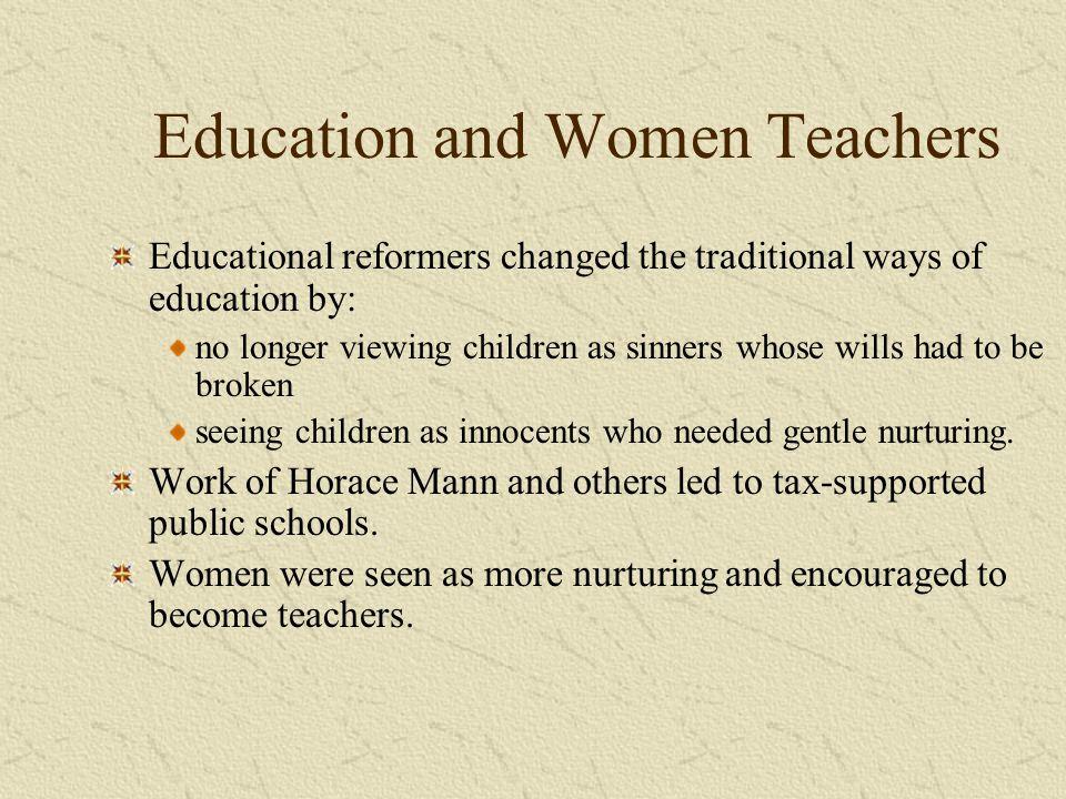 Education and Women Teachers