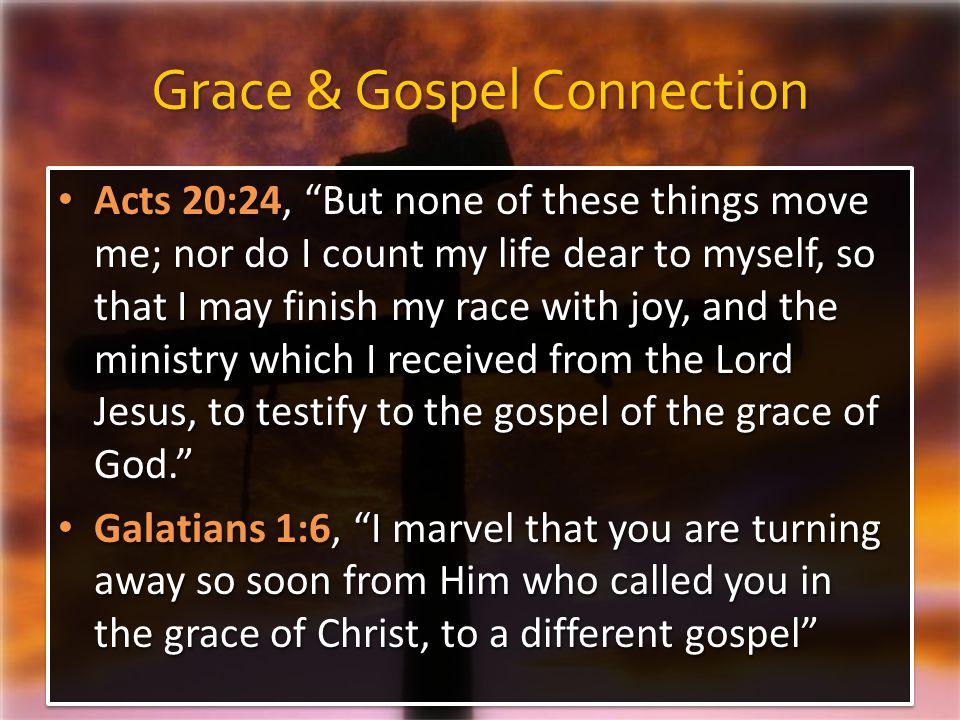 Grace & Gospel Connection
