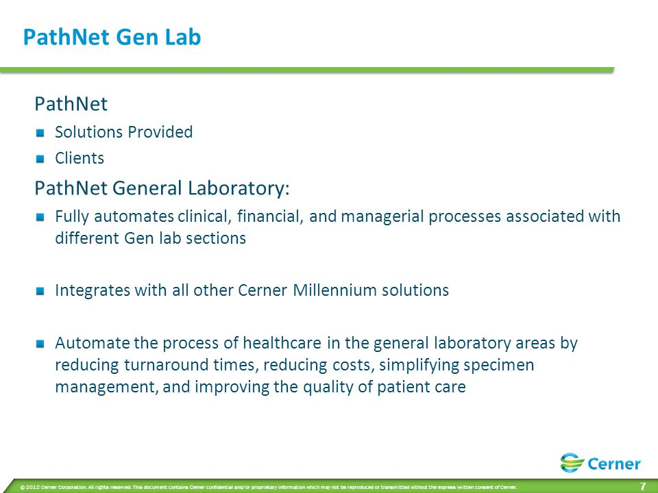 PathNet Gen Lab Contd