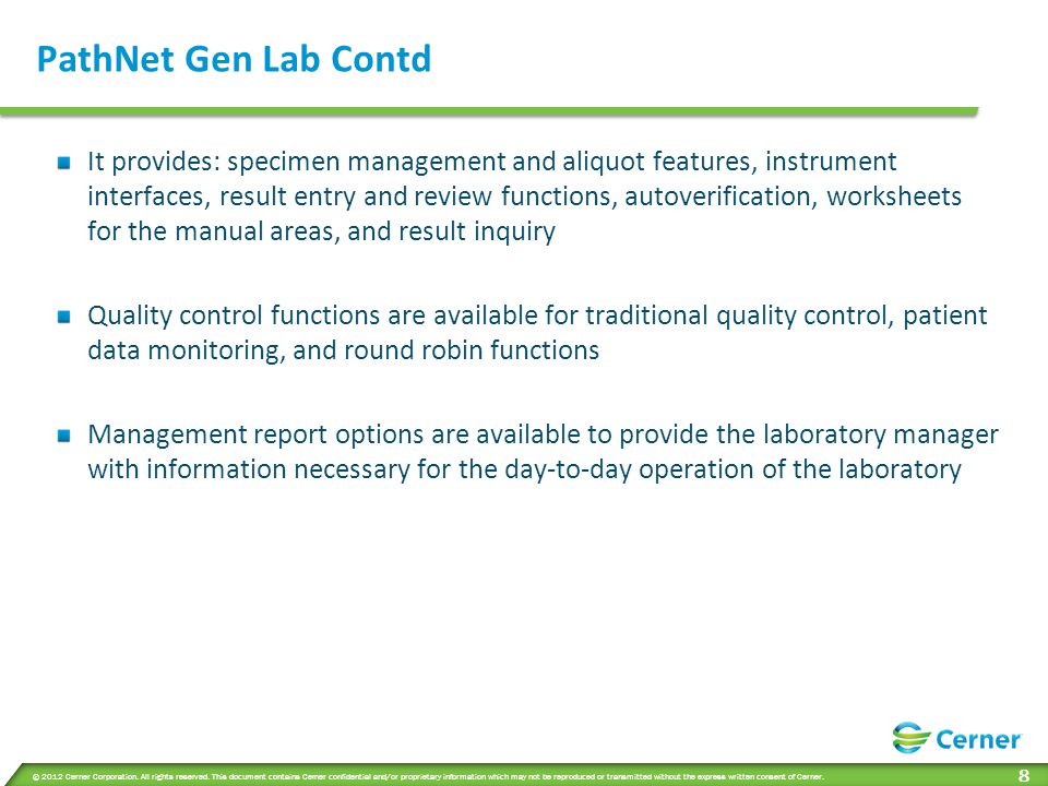 PathNet Gen Lab Contd Areas within General Laboratory