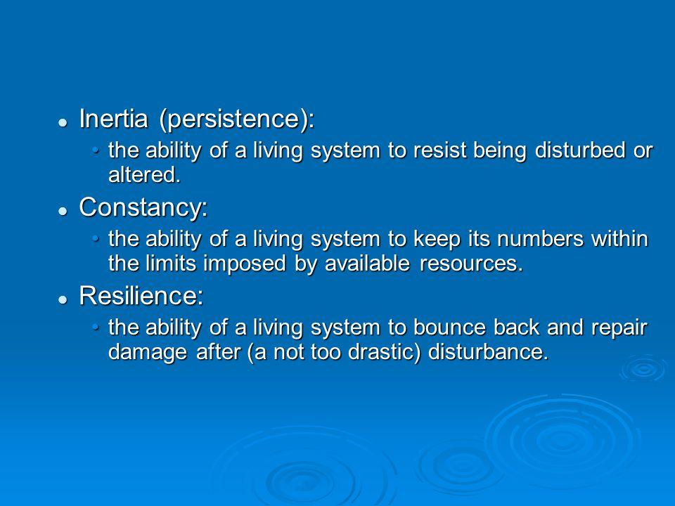 Inertia (persistence):