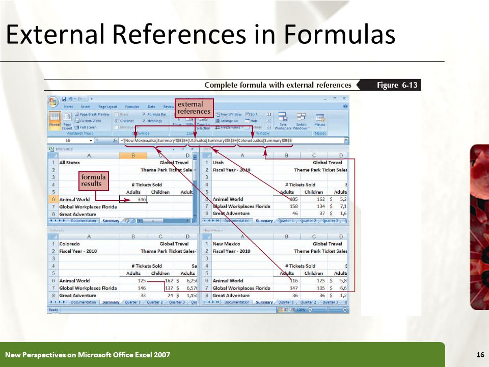 External References in Formulas