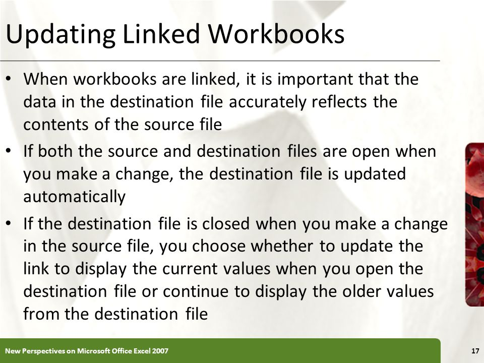 Updating Linked Workbooks