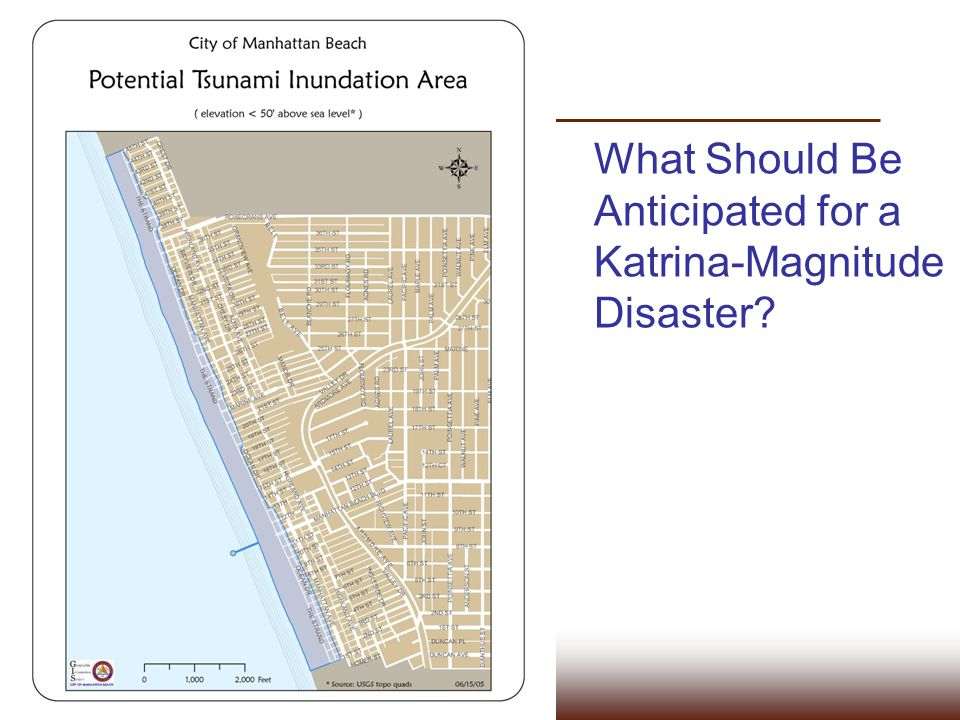 What Should Be Anticipated for a Katrina-Magnitude Disaster